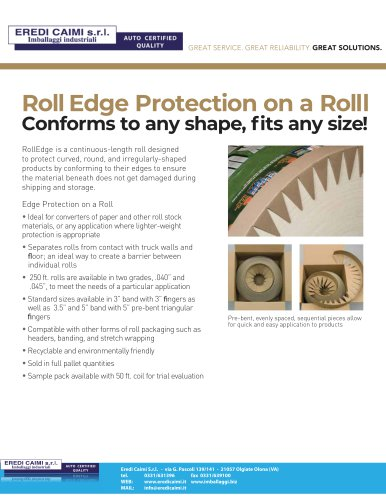 corner roll edge
