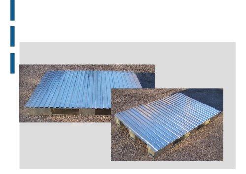 galvanized pallets