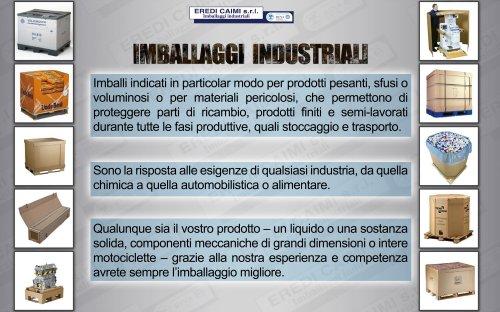 imballaggi industriali gamma