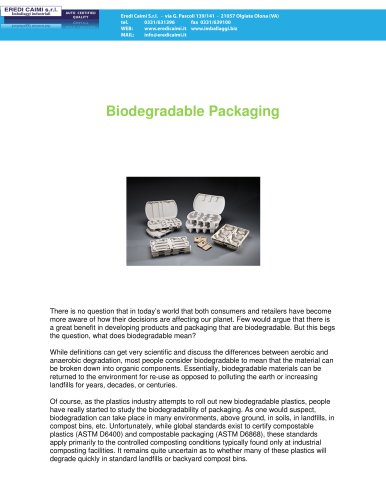 Pulp biodegrdable packaging