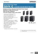 Switch Mode Power Supply S8VK-G