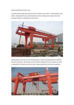 subway double beam gantry crane