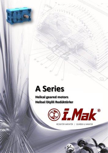 Motoréducteurs hélicoïdaux à usage industriel -  Série A/AE