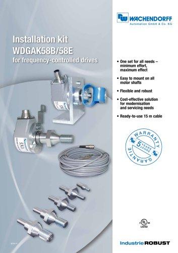 Installation kit WDGAK58B/58E