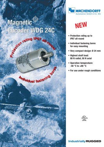 Magnetic Encoder WDG 24C