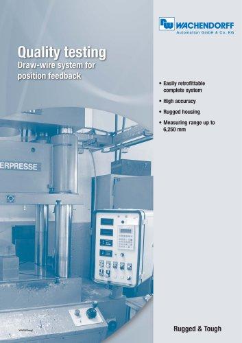 Quality testing