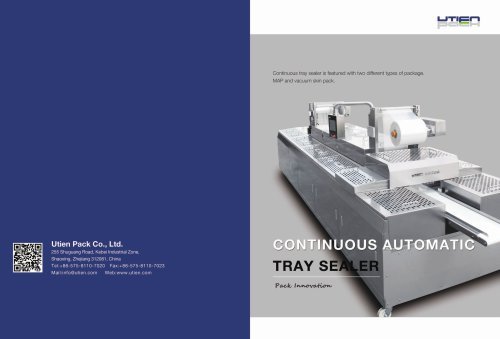 CONTINUOUS AUTOMATIC TRAY SEALER