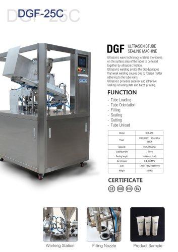 DGF-25C Ultrasonic Tube Sealers