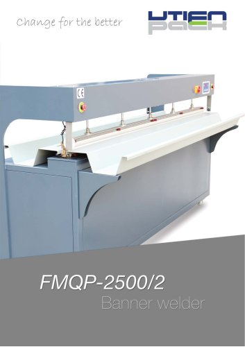 FMQP-2500/2 Banner welder