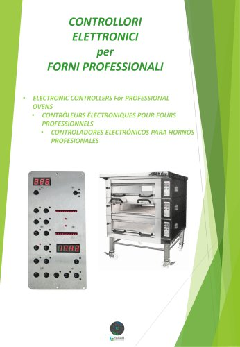 ELECTRONIC CONTROLLERS For PROFESSIONAL OVENS