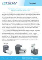 TOPSFLO lower noise air pressure pump pioneers new Smart Medical Air Mattress field !
