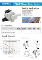 TOPSFLO TD5-PV Solar Water Heater Pump