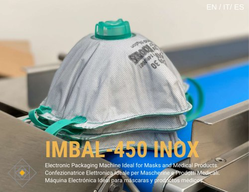 Flow Pack Machine IMBAL 450 INOX fo Face Mask