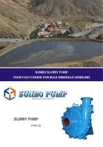 SunboPump ZJ Slurry Pump Slurry Booster Pump