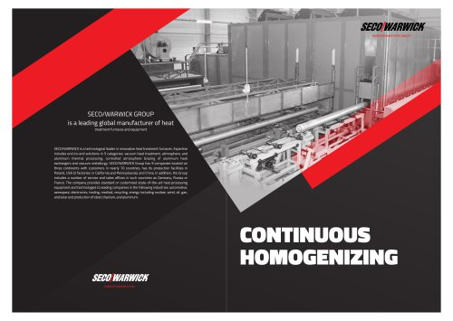 CONTINUOUS HOMOGENIZING