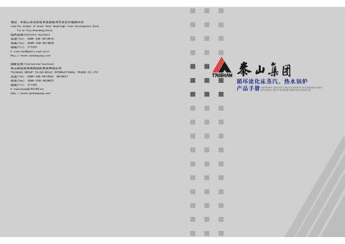Taishan Group Circulating Fluidized Bed (CFB) Boiler