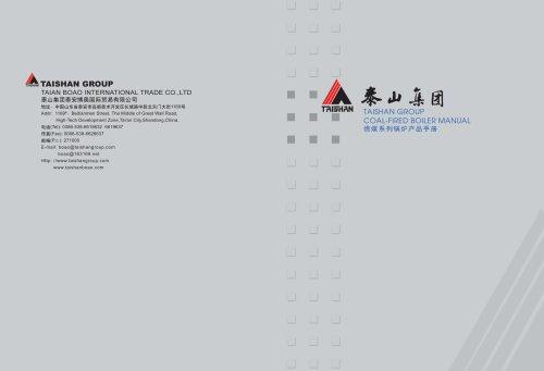 Taishan Group Coal Fired Boiler