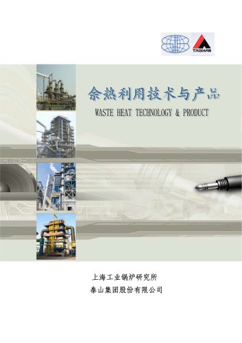 Taishan Group HRSG waste heat recovery boiler