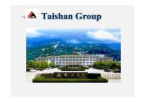 Taishan Group Profile
