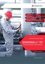 SONOWALL 70 Advanced A-/B-Scan Wall Thickness Gage