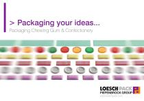 Packaging chewing gum & confectionery