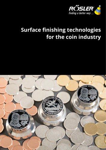 coin blanks finishing