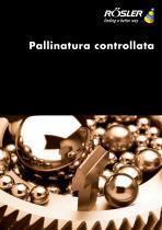 Pallinatura controllata