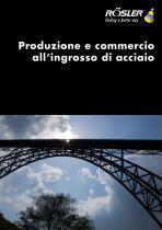 Produzione e commercio all'ingrosso di acciaio