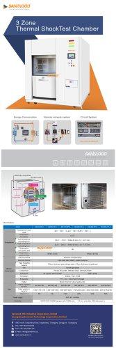 3 Zone Thermal Shock Chamber