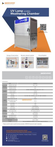 UV Lamp Weathering Test Chamber-800