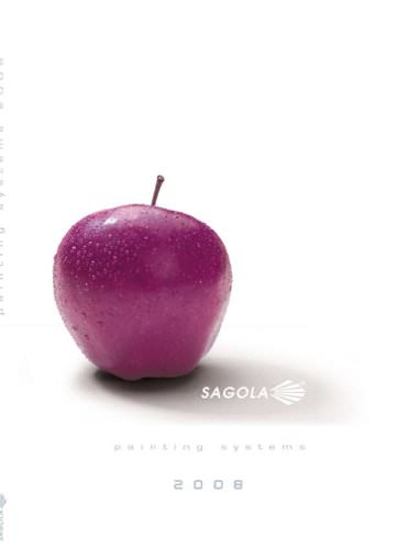 SAGOLA 2008 Catalogue