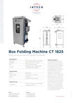 Box Folding Machine CT 1825