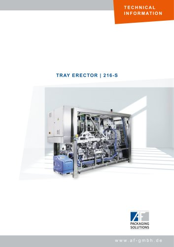 TRAY ERECTOR   216-S