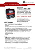 Control unit CDP-66M / CDP-99M