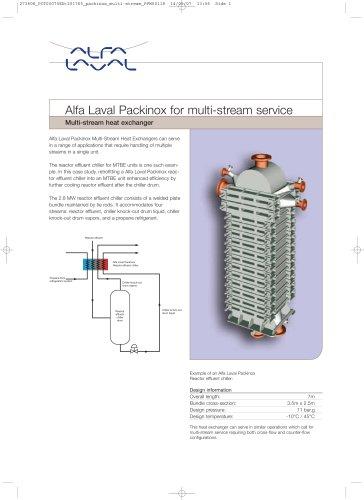 Alfa Laval Packinox for multi-stream service