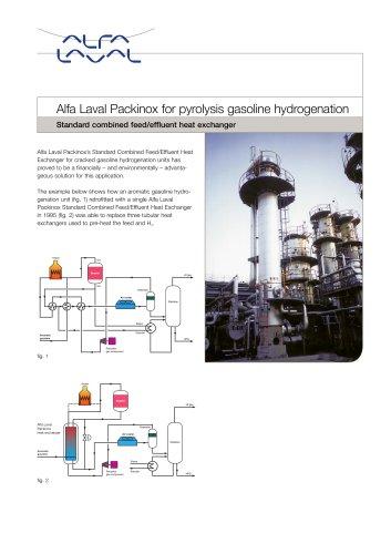 Alfa Laval Packinox for pyrolysis gasoline hydrogenation