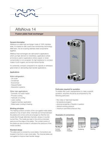 AlfaNova 14