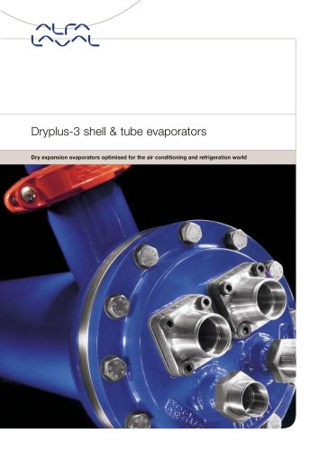 Dryplus-3 shell & tube evaporators