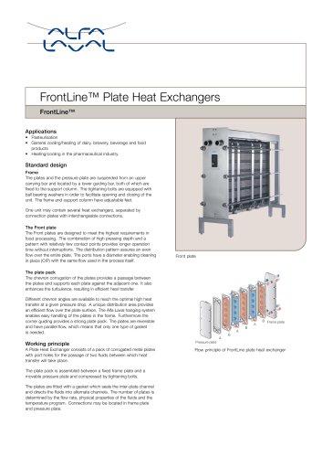 FrontLine Plate Heat Exchanger