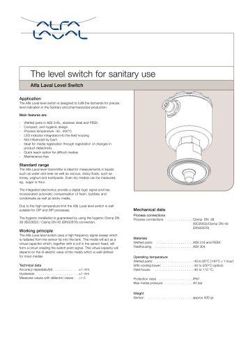 Level switch