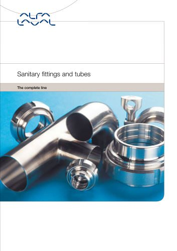 Sanitary fittings and tubes - the complete line
