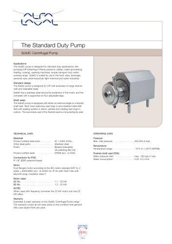 SolidC Centrifugal Pump