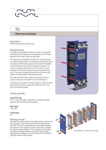 T5 - Plate heat exchanger