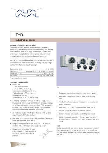 TYR - Industrial air cooler