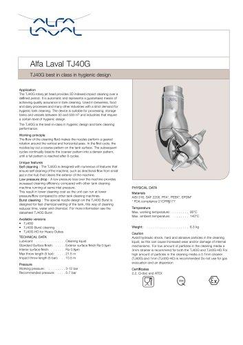yAlfa Laval TJ40G