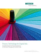Process Technology for Digital Inks