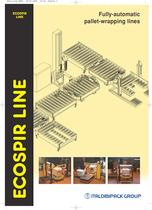 Pallet-wrapping lines: ECOSPIRLINE