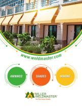 Awning Industry Welding Machines
