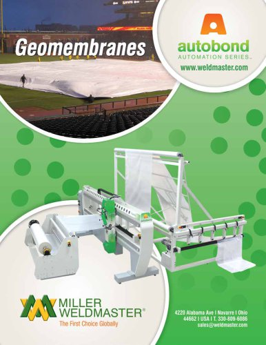 Geomembrane Industry - Automation