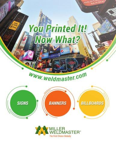 Sign Industry Welding Machines